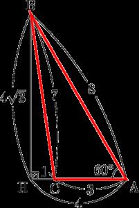 マーク模試 数学IA 三角比 平面図形