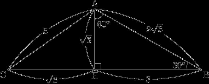 2003年 センターIA 追試 三角比 平面図形