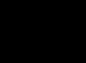 楕円のグラフと焦点
