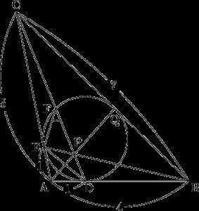 2019年 センター数学ⅠA 平面図形