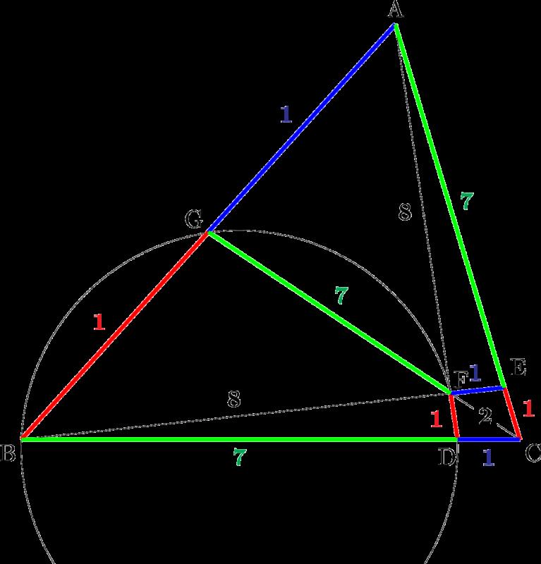 2020年 センター数学ⅠA 平面図形