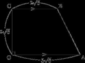 2020年 センター数学ⅡB ベクトル