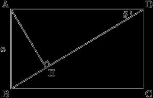 三角比を利用して辺の長さを求める問題