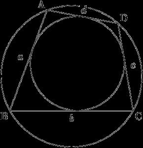 双心四角形ABCD