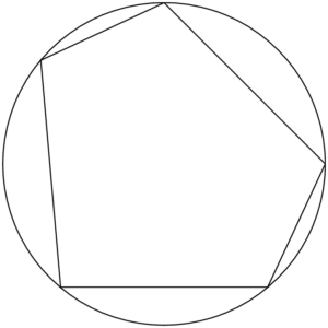 円に内接する多角形