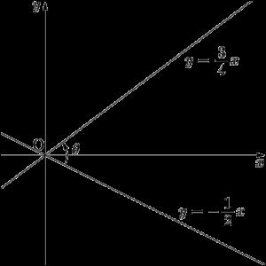 2020年 立教大 2直線のなす角θ